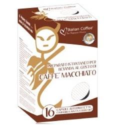 16 Compatibili A Modo Mio Caffe' Macchiato