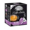 Bialetti Milano (16 capsule) - I caffè d'Italia