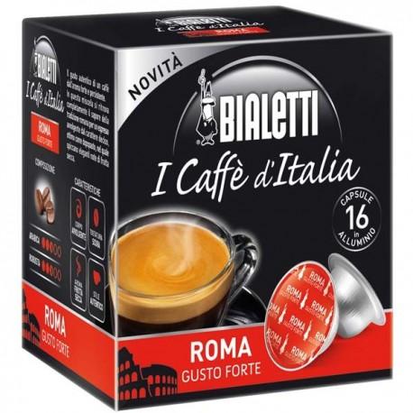 Bialetti Roma (16 capsule) - I caffè d'Italia