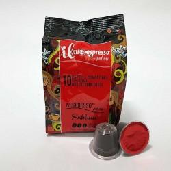 10 Capsule Compatibili Nespresso Il Mio Espresso Sublime
