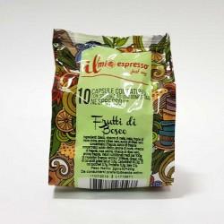 10 Capsule Compatibili Nespresso Infuso Frutti di Bosco in Foglia