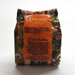 10 Capsule Compatibili Nespresso Il Mio Espresso Mini Cioccolata