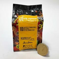 10 Capsule Compatibili Nespresso Il Mio Espresso Arabica