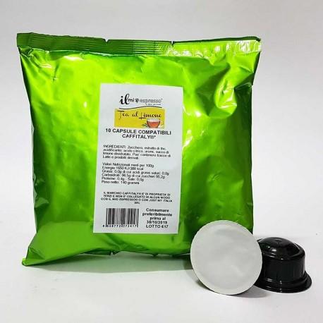 10 Capsule Compatibili Caffitaly Il Mio Espresso Tè al Limone